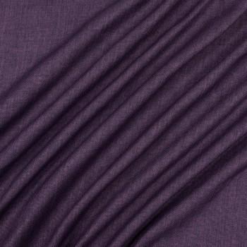 Ткань блэкаут рогожка фиолетовый