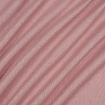 Ткань блэкаут рогожка розовый