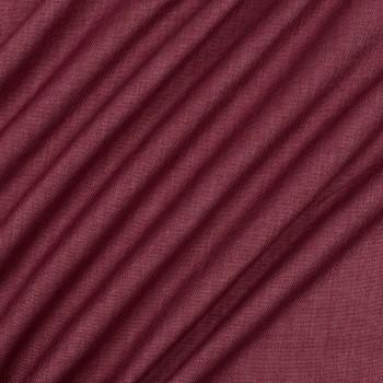 Ткань блэкаут рогожка бордовый