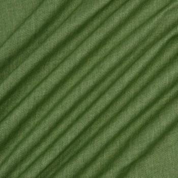 Ткань блэкаут рогожка зеленый