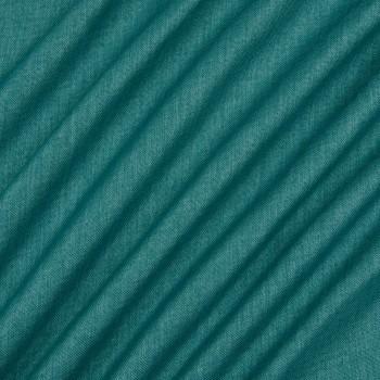 Ткань блэкаут рогожка морская волна