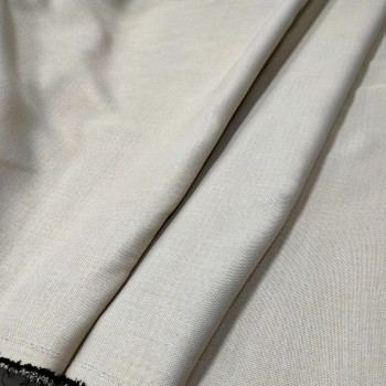 Ткань блэкаут рогожка светлый-беж