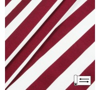 Декоративная ткань Талдо полоса красный