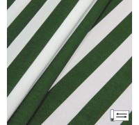 Декоративная ткань Талдо полоса зеленый