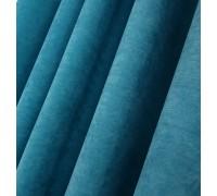 Ткань микровелюр Даймонд морская волна