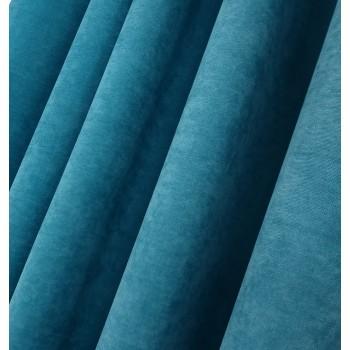 Ткань микровелюр Даймонд морская волна 1403-100
