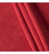Ткань микровелюр Даймонд красный