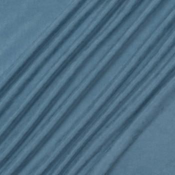Ткань микровелюр Даймонд голубой