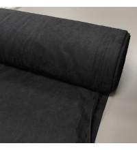 Ткань микровелюр  Даймонд чёрный
