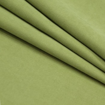 Ткань микровелюр Даймонд оливковый 1403-207