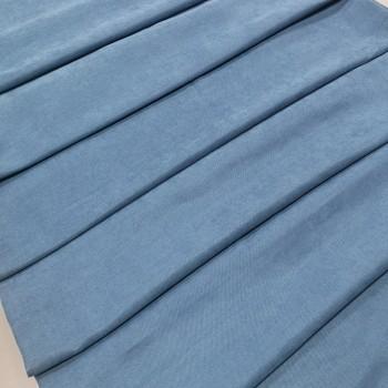 Ткань микровелюр Даймонд светло-синий