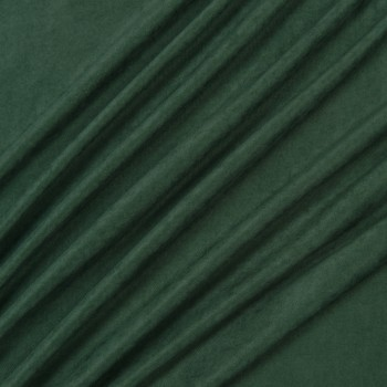 Ткань микровелюр Даймонд темно-зелёный
