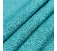 Ткань рогожка Afina бирюза