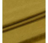 Ткань Суэт замша горчица 300 см