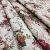 Ткань Андреа Букет цветов бордовый 280 см 20001