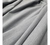 Ткань рогожка Айсу светло-cерый
