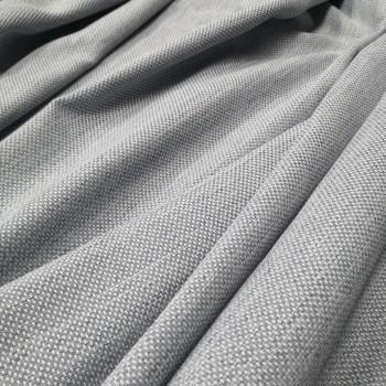 Ткань рогожка Айсу светло-cерый 0210141
