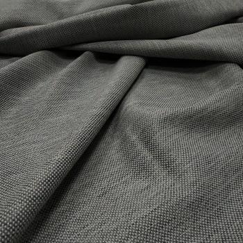 Ткань рогожка Айсу cерый 1210141