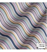 Ткань Дралон мелкая полоска лиловый