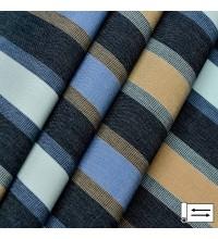 Ткань Дралон Pau полоса синий