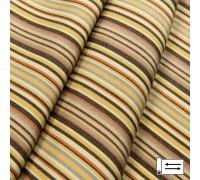 Ткань Дралон Javier полоса коричневый