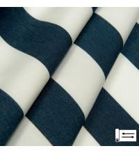Ткань Дралон полоса синий 160 см