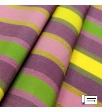Ткань Дралон Pau полоса фиолетовый