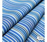 Ткань Дралон Javier полоса синий