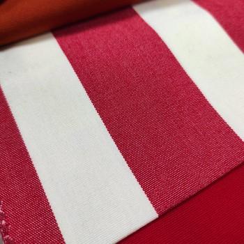 Ткань Дралон полоса красный