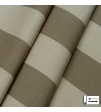 Ткань Дралон полоса темный беж 160 см