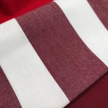 Ткань Дралон полоса бордовый
