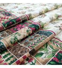 Новогодняя ткань для скатерти Винтаж