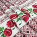 Скатертная ткань рогожка Маки 037861