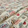Скатертная ткань рогожка Чаепитие 098551