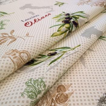Скатертная ткань рогожка Оливия 356651