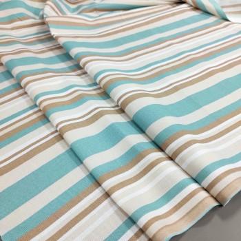 Скатертная ткань рогожка Полоса 658271