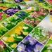 Скатертная ткань рогожка Первоцвет 733561