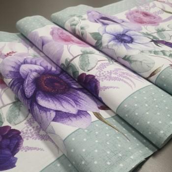 Ткань для дорожка раннер Виолет 765071