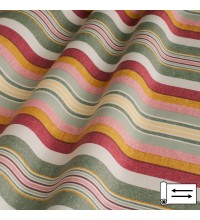 Декоративная ткань Stripe полоса оливковый 180 см