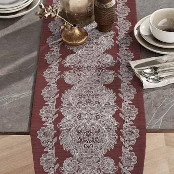 Дорожка на стол раннер Изабель коричневый 150943071