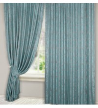 Комплект штор Эмель мрамор голубой