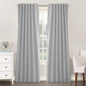 Комплект штор блекаут светло-серый