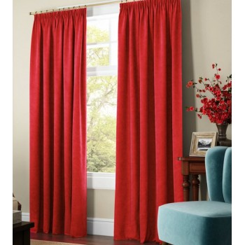 Комплект штор Даймонд ярко-красный