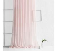 Готовая тюль Мурсия розовый жемчуг