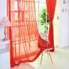 Готовый тюль вуаль Alana красный 300427821