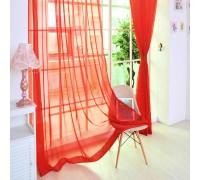 Готовый тюль вуаль Alana красный