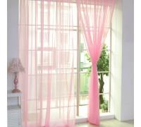 Готовый тюль вуаль Alana нежно-розовый