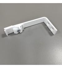 Кронштейн Ks смарт стеновой однополосный белый 10 см