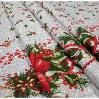 Новогодняя ткань для Рождественская 198551