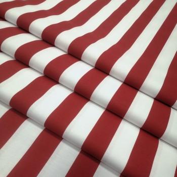 Скатертная ткань Полоса красный 1167-75